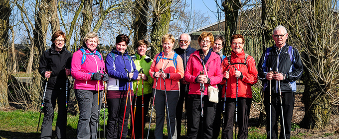 Nordic walking & wandeldag